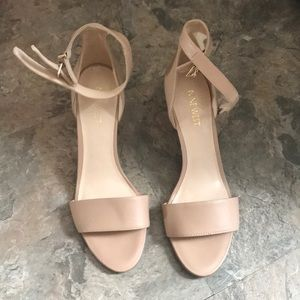 Nine West nude heels